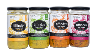 Tiffinday Heat-and-Eat Curry Stews